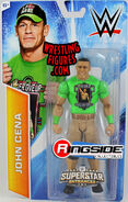 WWE Superstar Entrances - John Cena (Never Give Up Painted Shirt)