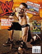 WWE Magazine March 2008 Issue
