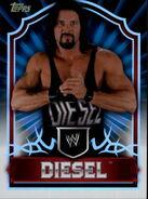 2011 Topps WWE Classic Wrestling Diesel 82
