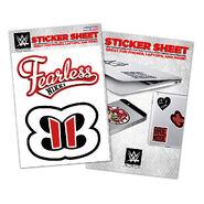 Nikki Bella Vinyl Sticker Sheet