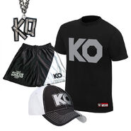 Kevin Owens KO Fight Halloween T-Shirt Package