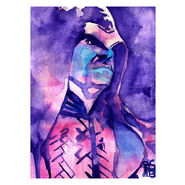 The Undertaker Art Print