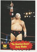 2012 WWE Heritage Trading Cards Dusty Rhodes 57