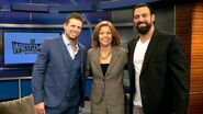 Miz & Mizdown WrestleMania Media Tour.6