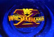 WrestleMania X poster