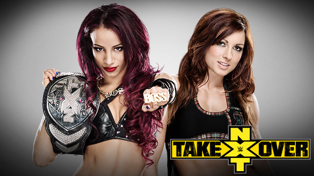 Image result for becky lynch vs sasha nxt