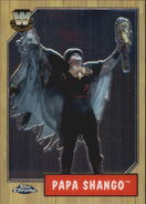 2008 WWE Heritage III Chrome Trading Cards Papa Shango 78