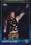 2015 Chrome WWE Wrestling Cards (Topps) Heath Slater 32