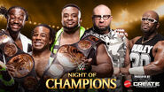 NOC 15 New Day v Dudley Boyz