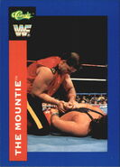 1991 WWF Classic Superstars Cards The Mountie 66