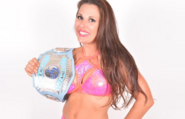 Mickie James with MCW Womens Title
