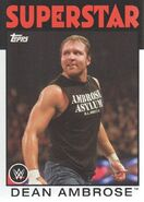 2016 WWE Heritage Wrestling Cards (Topps) Dean Ambrose 12