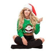 Summer Rae Santa Sweatshirt 2013