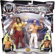 WWE Adrenaline Series 2 Matt Hardy & Rey Mysterio