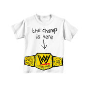 John Cena The Champ Is Here Toddler T-Shirt