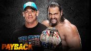 WWE Payback 2015 - John Cena vs. Rusev