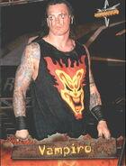 1999 WCW Embossed (Topps) Vampiro 9.