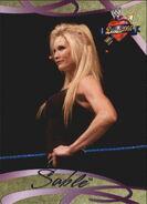 2004 WWE Divas 2005 (Fleer) Sable 37