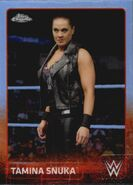 2015 Chrome WWE Wrestling Cards (Topps) Tamina Snuka 69