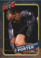 2008 WWE Heritage III Chrome Trading Cards Montel Vontaviouis Porter 10
