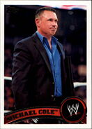 2011 WWE (Topps) Michael Cole 31