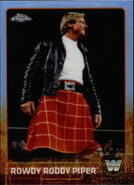 2015 Chrome WWE Wrestling Cards (Topps) Rowdy Roddy Piper 88
