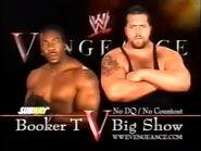 Booker T vs Big Show
