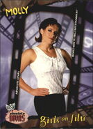 2002 WWE Absolute Divas (Fleer) Molly 83