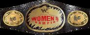 WWF Women's Championship Belt 1999-2001