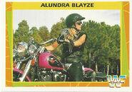 1995 WWF Wrestling Trading Cards (Merlin) Alundra Blayze 116