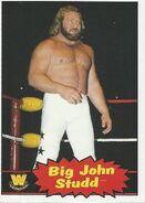 2012 WWE Heritage Trading Cards Big John Studd 62