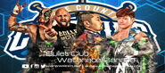 GFW Grand Slam Tour 2015 Day7 Bullet Club vs Watanabe Sanada