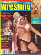 Sports Review Wrestling - October 1981
