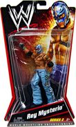 WWE Series 2 Rey Mysterio (Light Blue)