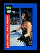 1991 WWF Classic Superstars Cards Sensational Queen Sherri 96
