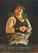 2008 WWE Heritage III Chrome (Topps) (Allen & Ginter) Sgt. Slaughter 9