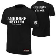 Dean Ambrose Unhinged and on the Fringe Youth Authentic T-Shirt