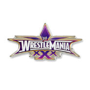 WrestleMania 30 Collectible Pin