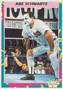 1995 WWF Wrestling Trading Cards (Merlin) Abe Schwartz 50