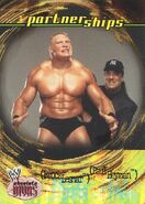 2002 WWE Absolute Divas (Fleer) Brock Lesnar 49