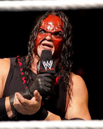 Kane explaining why he attacked Cena