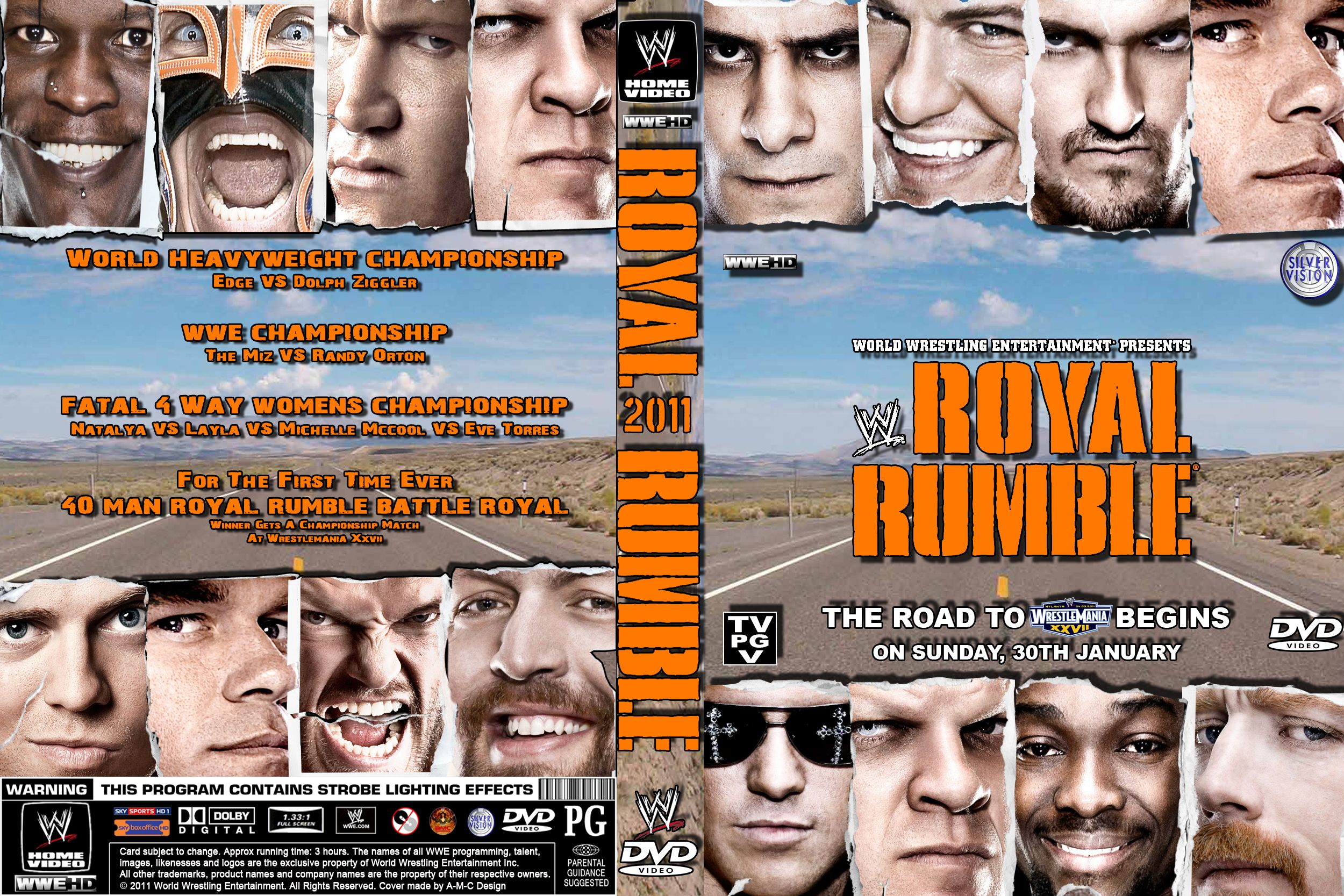 Image result for royal rumble 2011 match