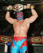 Dos Caras Jr. CMLL World Heavyweight