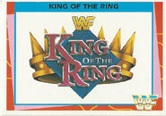 1995 WWF Wrestling Trading Cards (Merlin) King of the Ring 85