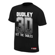 The Dudley Boyz Get The Tables Authentic T-Shirt