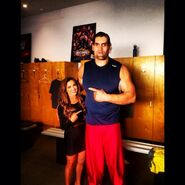 Devin Taylor & Great Khali