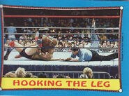 1987 WWF Wrestling Cards (Topps) Hooking The Leg 48
