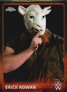 2015 Chrome WWE Wrestling Cards (Topps) Erick Rowan 27