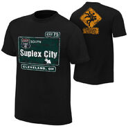 Brock Lesnar Suplex City Cleveland Authentic T-Shirt