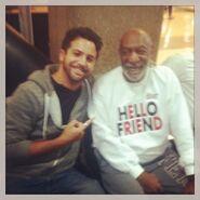 Xtian Cole & Bill Cosby